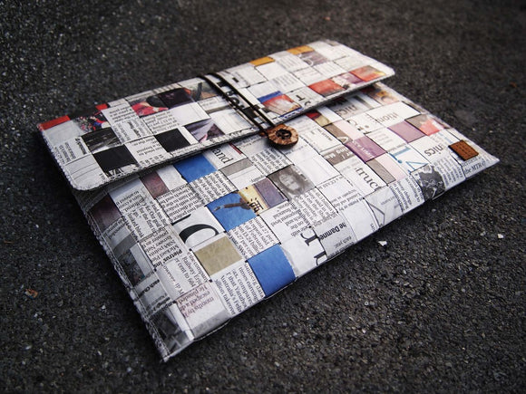 Newspaper Tablet / iPad Mini Sleeve (6