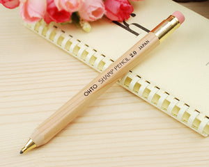 OHTO Wooden Body Mechanical Pencil 2.0