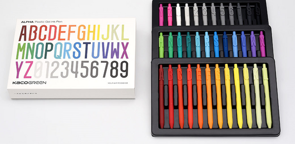 ALPHA Plastic Gel Ink Pen Set