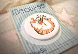 Meow Badge - The Tree Stationery & Co. 大樹文房