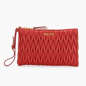 f94ad44f8aed Clutch Matelasse Wristlet Bag - CHIC Kuwait Luxury Outlet