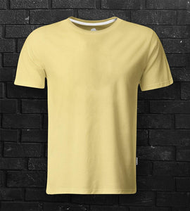 DaDa Plain Blank Banana Yellow Tee