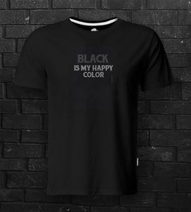 DTG #BlackIsHappyColor Black Tee - theDaDaist