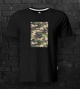DTG #CamoPatch Black Tee - theDaDaist