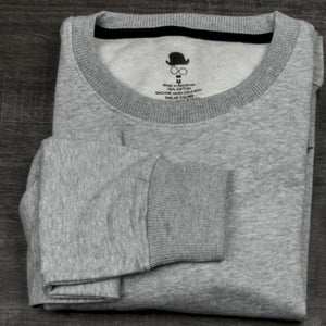 DaDa Basic Heather Grey Sweatshirt - theDaDaist