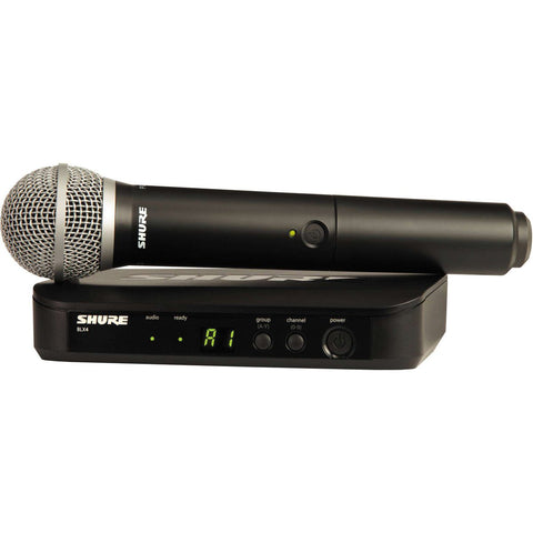 Shure BLX24E/PG58-T11 - Single Handheld Wireless Microphone System