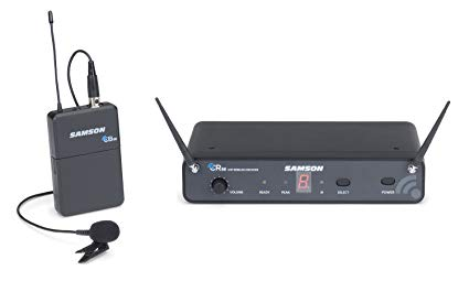 Samson CONCERT 88 WIRELESS LM5 LAPEL Cordless Mic