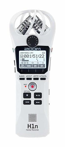 Zoom H1N Handy Recorder - White