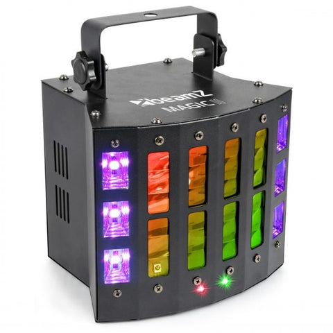 BEAMZ LED MAGIC2 DERBY WITH LASER RG + STROBE
