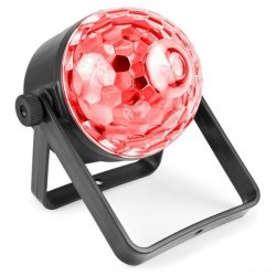 BeamZ Jelly DJ Ball 4x3W RGB-UV Battery DMX IR
