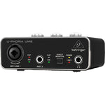 Behringer UM2 - Audiophile 2x2 USB Audio Interface with XENYX Mic Preamplifier