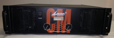 Lane  CM6000 Power Amplifier