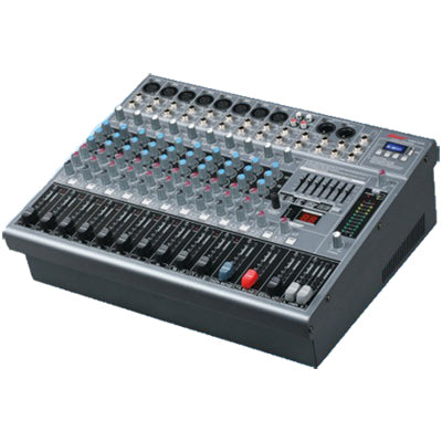LANE GMX 12/2D 12 CHANNEL POWERED MIXER