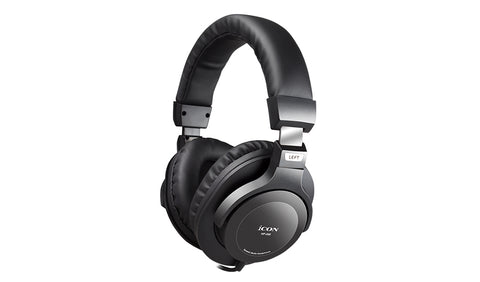 ICON Pro Audio HP-200 Closed-Black Studio Headphones