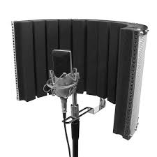 On-Stage Microphone Isolation Shield/Reflection Filter/Reflection Shield