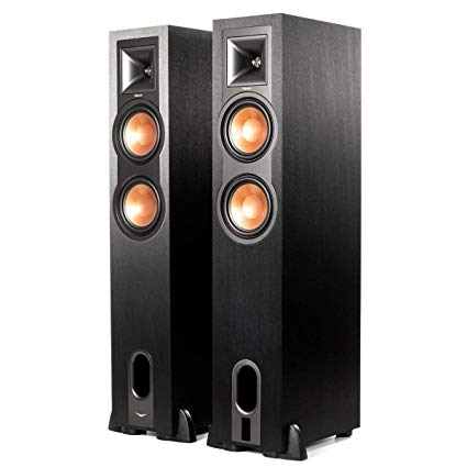 Klipsch R-26PF - POWERED FLOORSTANDING SPEAKERS (Pair)