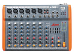 LANE GX8 - 8 CHANNEL PROFESSIONAL PASSIVE MIXING CONSOLE