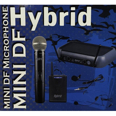 Hybrid Mini DF H/H - Dual UHF Cordless Hand Microphone System