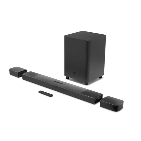 JBL BAR 9.1 Channel Soundbar System with surround speakers and Dolby Atmos®