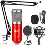 LANE BAM-800 Studio Condenser Microphone Kit (Red)