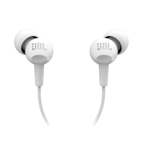 JBL C100SI - In-Ear Headphones (White)