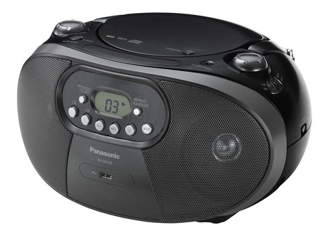 Panasonic RX-DU10GS-K Portable CD Radio