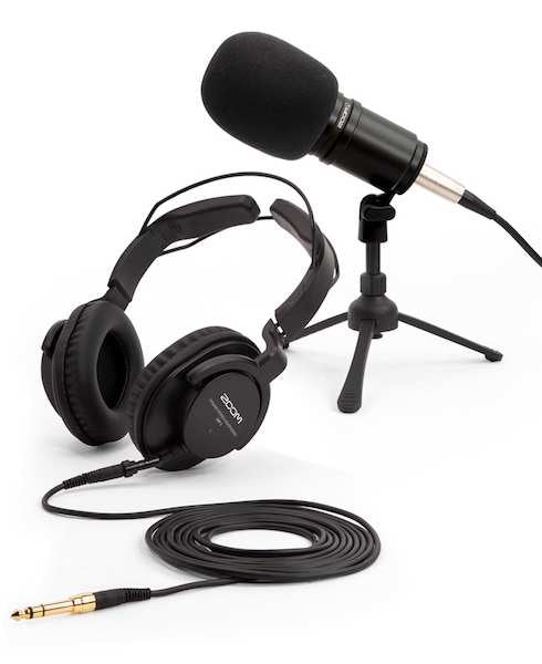 ZOOM ZDM-1 PODCAST MIC PACK FOR PROFESSIONAL SOUNDING PODCASTS