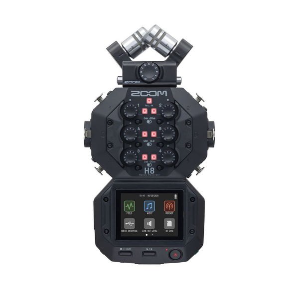 Zoom H8 -  8-Input / 12-Track Portable Handy Recorder