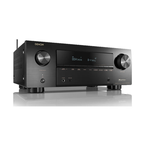 Denon AVR-X2700H - 7.2ch 8K AV Receiver with 3D Audio, Voice Control & HEOS