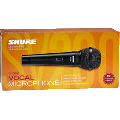 Shure SV200 - Cardioid Dynamic Microphone - Open Box