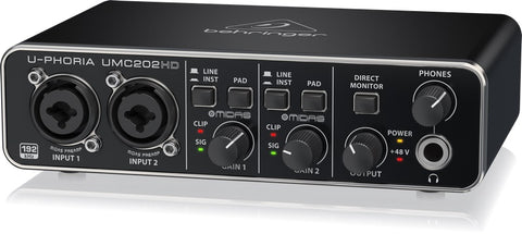 Behringer UMC202HD Audio Interface