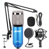 LANE BAM-800 Studio Condenser Microphone Kit (Blue)