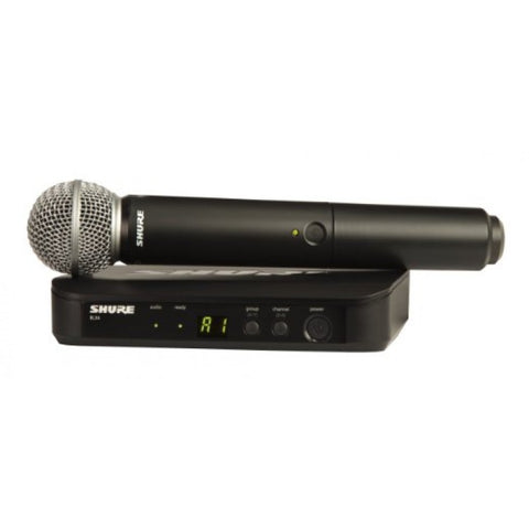 SHURE BLX24E/SM58  Handheld Wireless System with SM58 Capsule