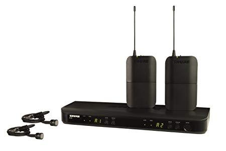 Shure BLX188/PG85 Wireless Combo System with PG185 Lavalier Microphones