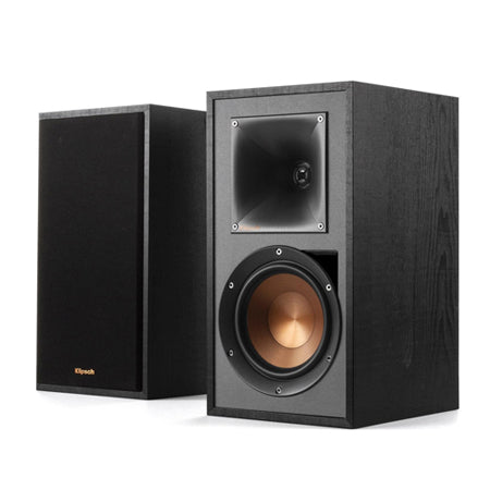 Klipsch R-51PM (Pair) - Powered Bookshelf Speakers (Black) - Open Box