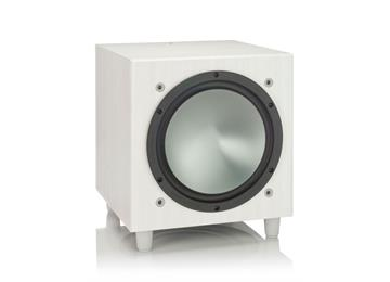 Monitor Audio Bronze W10 Subwoofer - White Ash