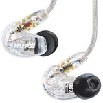 Shure SE215 CL Sound Isolating Earphones - Clear