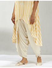 Load image into Gallery viewer, IVORY DHOTI PANTS