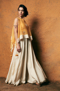MARIGOLD CAPE & FLARED PANTS