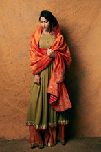 Load image into Gallery viewer, FISH ANARKALI & FLARED PANTS SET