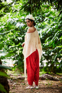 CHAAND CAPE & DHOTI SET