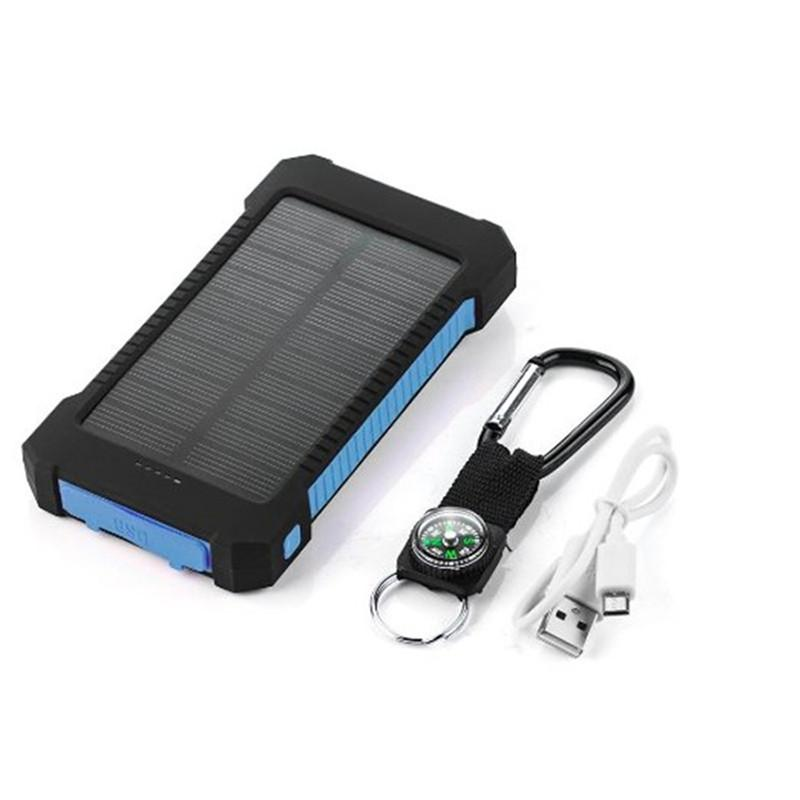 20000MAH DUAL USB SOLAR CHARGER - Big Red
