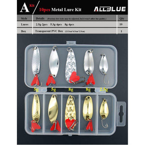 ALLBLUE METAL FISHING LURE KIT-Alpha Manchester