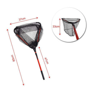ALUMINIUM ALLOY 80CM RETRACTABLE FISHING NET-Alpha Manchester