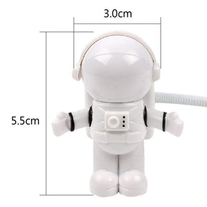 ASTRONAUT USB LIGHT - Big Red