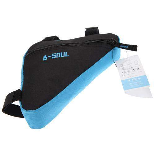 B-SOUL FRONT WATERPROOF TRIANGLE BICYCLE BAG - Big Red
