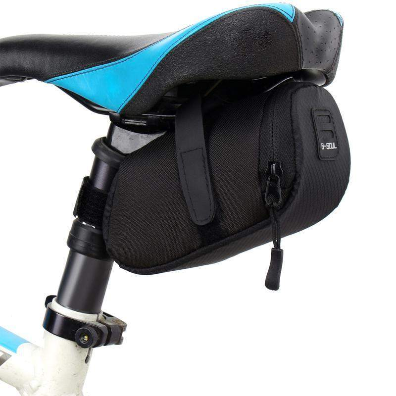 B-SOUL REAR WATERPROOF SADDLE BAG - Big Red