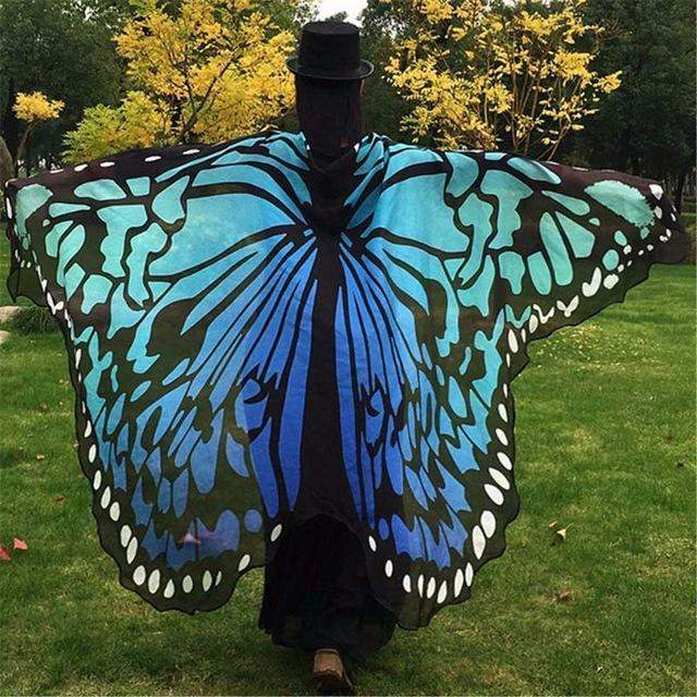 BUTTERFLY CAPE SCARF-Alpha Manchester