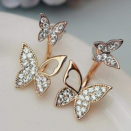 BUTTERFLY EARRINGS-Alpha Manchester