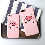 CUTE CARTOON PIG IPHONE CASE-Alpha Manchester